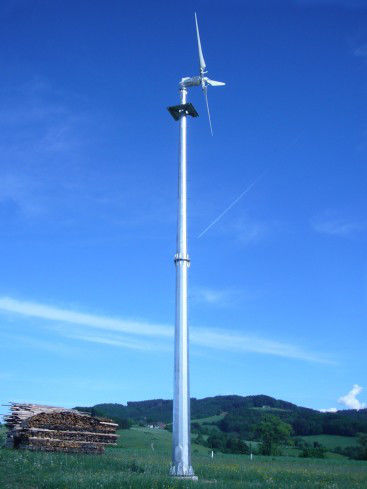 5000W On Grid Wind Turbine For Remote Minimal Vibration And Low Noise Operation